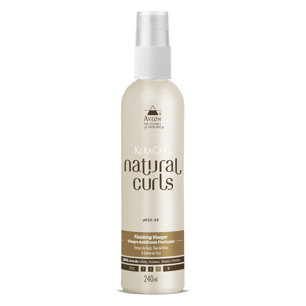 Natural Curls Finishing Vinegar Avlon Keracare 240ml - G