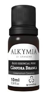 Óleo Essencial Puro Cânfora Branca Grandha Alkymia 10ml