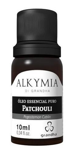 Óleo Essencial Puro Patchouli Grandha Alkymia 10ml