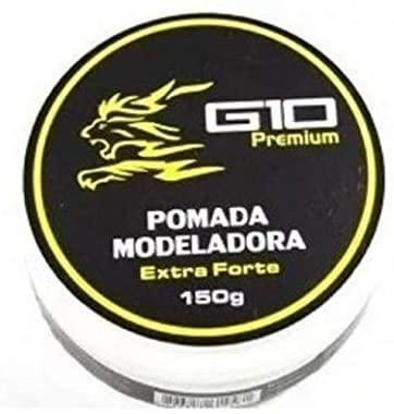 Pomada Modeladora Incolor Extra Forte G10 Premium 150gr