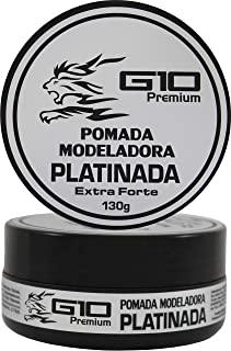 Pomada Modeladora Platinada G10 Premium - 130gr