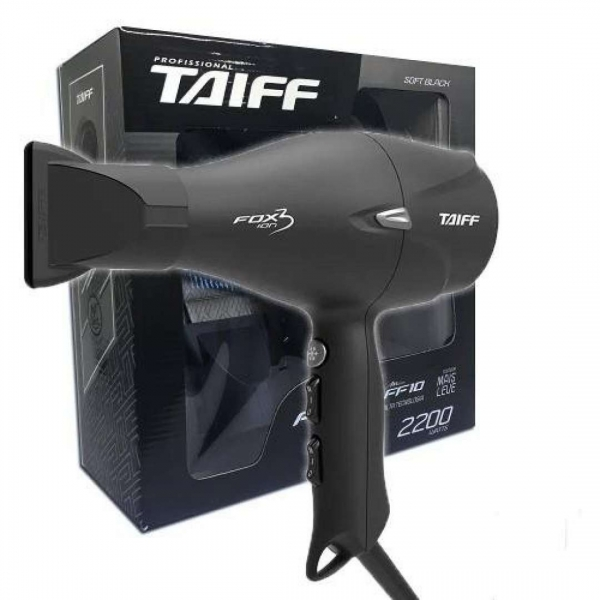 Secador Fox Ion 3 Black Taiff 110v