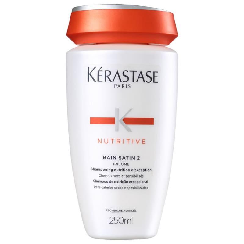 Shampoo Cabelos Secos Nutritive Bain Satin 2 Kérastase - 250ml - CA