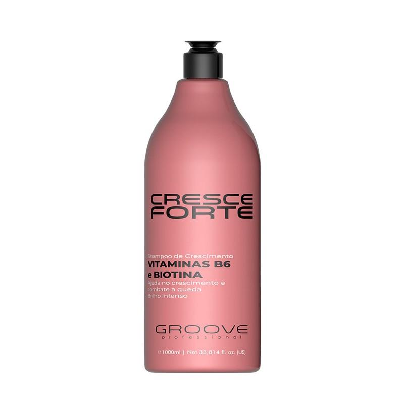 Shampoo de Crescimento Cresce Forte Groove Professional - 1L