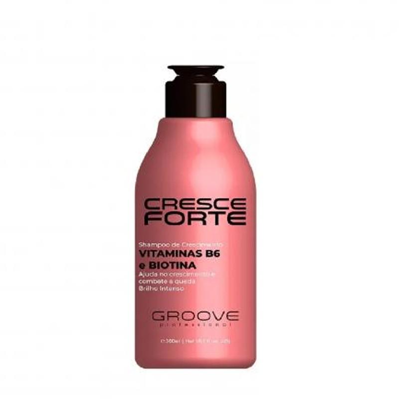 Shampoo de Crescimento Cresce Forte Groove Professional - 300ml