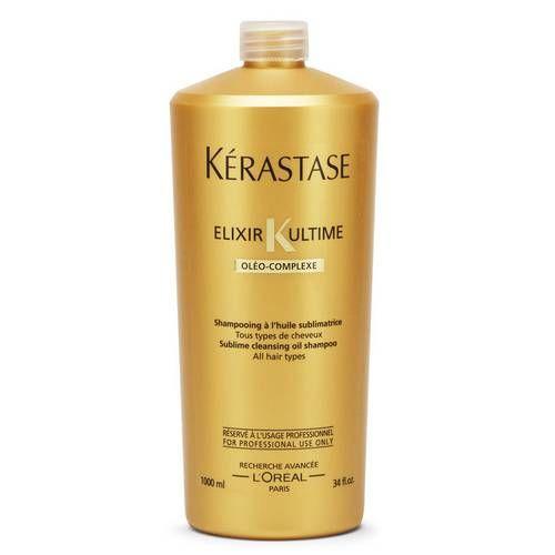 Shampoo Elixir Ultime Bain Kérastase - 1L - CA