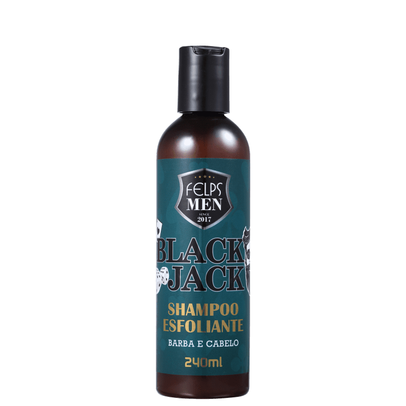 Shampoo Esfoliante Men Black Jack Felps 240ml