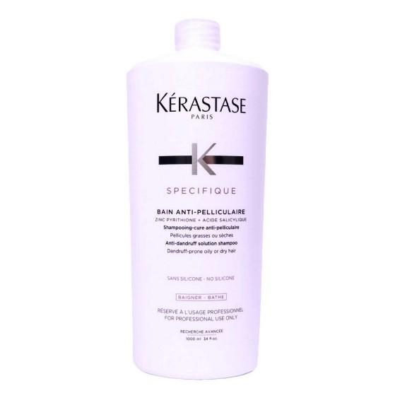 Shampoo Kérastase Bain Anti-Pelliculaire Specifique Anticaspa 1 Litro