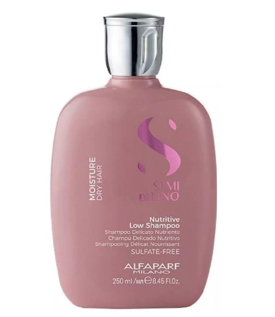 Shampoo Moisture Nutritive Low Semi Di Lino - Alfaparf 250ml