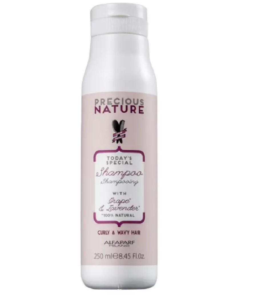 Shampoo Precious Nature Curly & Wavy Hair Alfaparf - 250ml