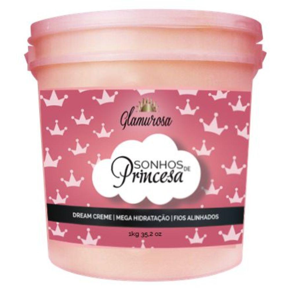 Sonhos de Princesa Mega Hidratação Glamurosa 1Kg