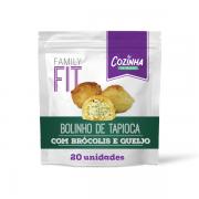 Bolinho de Tapioca com Brócolis - 20 unidades