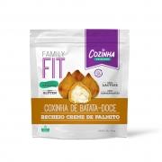 Coxinha de batata-doce com creme de Palmito - 12 unidades