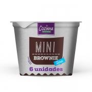 Mini Brownie Zero - 80g (6 unidades)