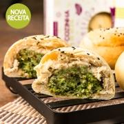 Pão de Batata Doce com Brócolis e Queijo - 4 unidades