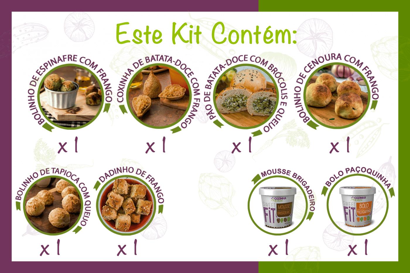Kit Complemente Seu Dia