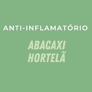 """Suco prensado a frio """"Anti-Inflamatório"""" 300ml"""