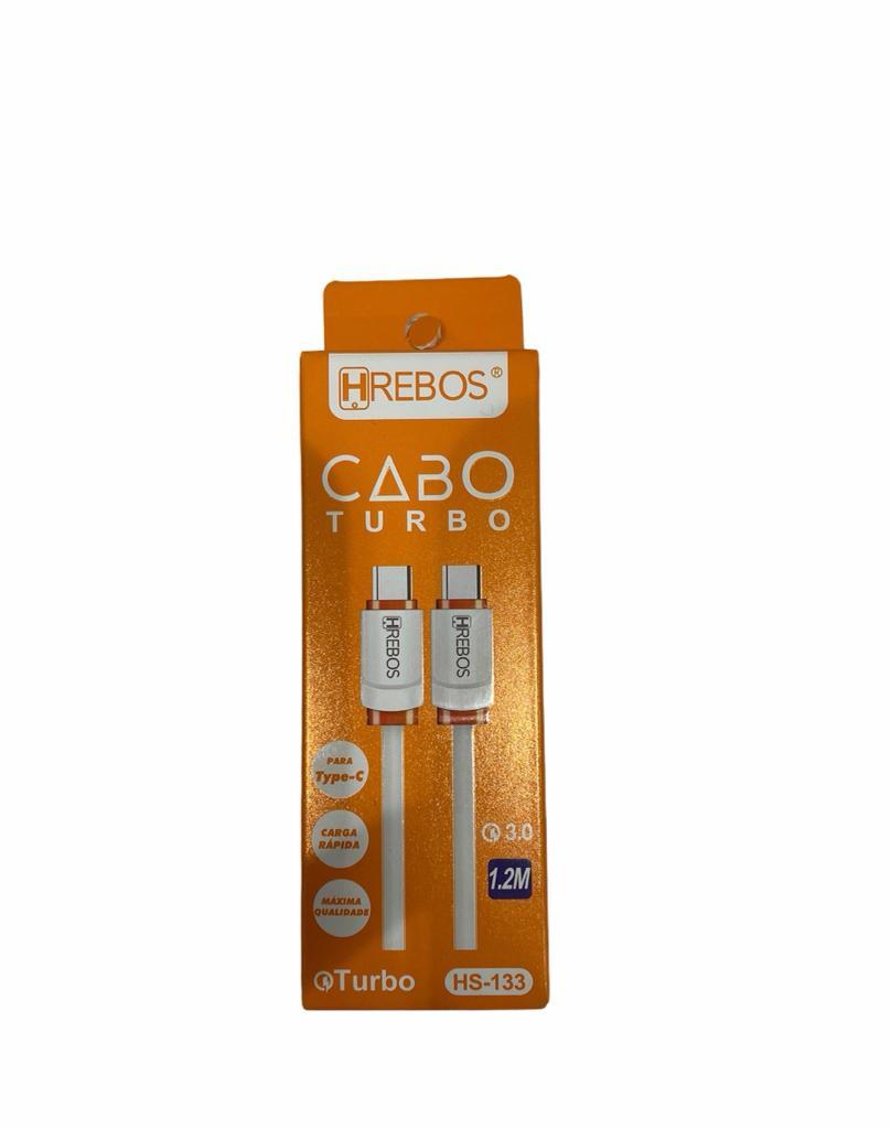 Cabo de Dados HREBOS Turbo USB C - Tipo C