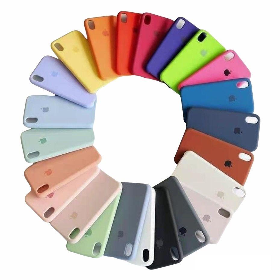 Capa Case de Silicone iPhone 5/5S/5SE