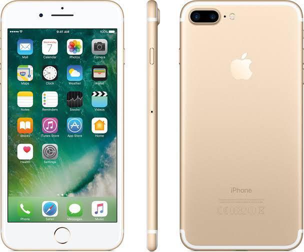 iPhone 7 Plus 128GB Dourado de Vitrine