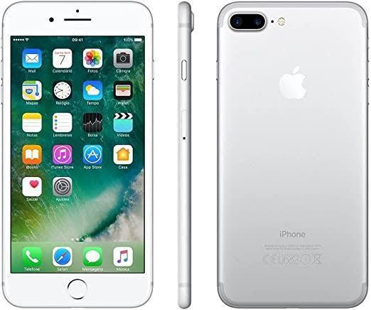 iPhone 7 Plus 128GB Prata de Vitrine