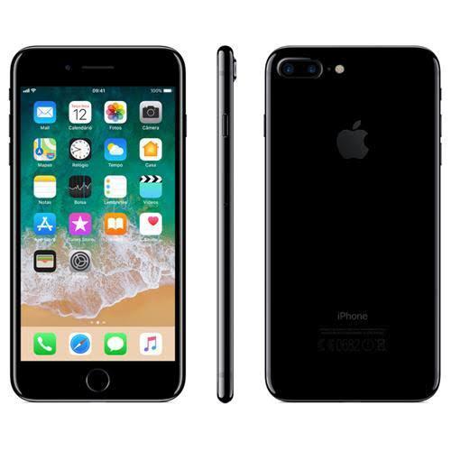 iPhone 7 Plus 128GB Preto Brilhante de Vitrine