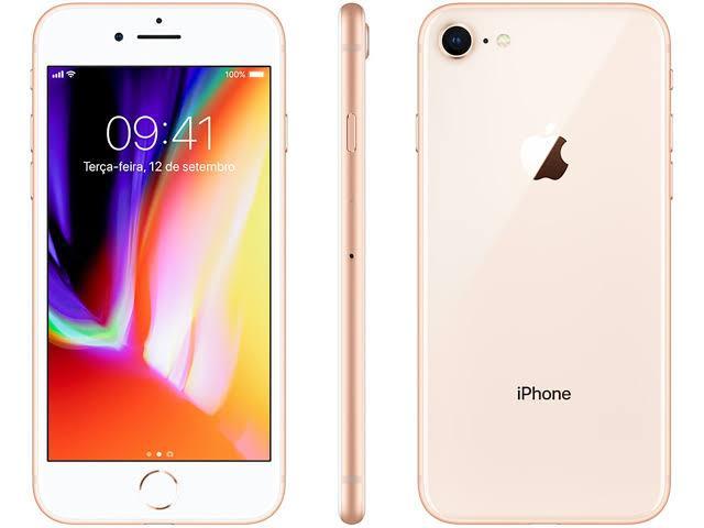 iPhone 8 256GB Dourado de Vitrine