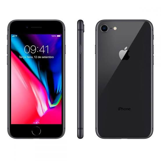 iPhone 8 256GB Preto de Vitrine