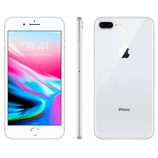 iPhone 8 Plus 256GB Prata de Vitrine