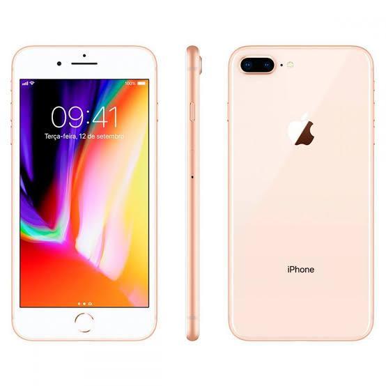 iPhone 8 Plus 64GB Dourado de Vitrine