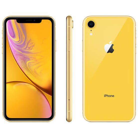 iPhone XR 64GB Amarelo de Vitrine