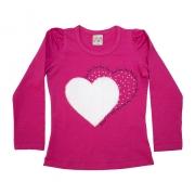 Blusa Infantil Love Pink