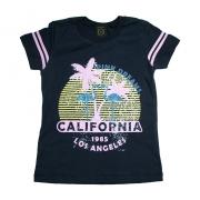 Blusa Juvenil Califórnia Preta