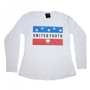 Blusa Juvenil United Youth  Branco