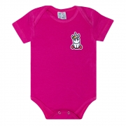 Body Bebê Aplique Unicórnio Pink