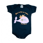 Body Bebê Baleia Chumbo