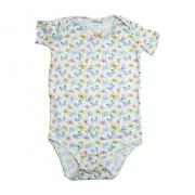 Body Bebê Borboletas Branco