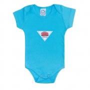 Body Bebê Cars Azul