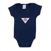 Body Bebê Cars Marinho