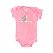 Body Bebê Cute Rosa