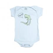 Body Bebê Dino Branco