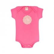 Body Bebê Elefante Pink