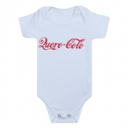 Body Bebê Frase Quero Colo Branco