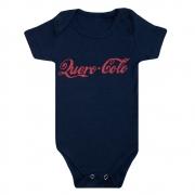 Body Bebê Frase Quero Colo Marinho