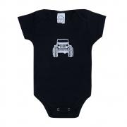 Body Bebê Jeep Preto