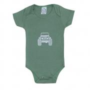 Body Bebê Jeep Verde