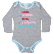 Body Bebê Linda Mescla