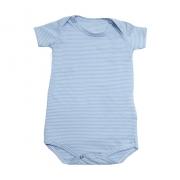 Body Bebê Listras  Azul