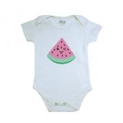 Body Bebê Melância Pérola