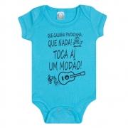 Body Bebê Modão  Azul